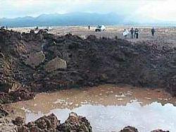 В кратере перуанского метеорита вместо радиации нашли серу и мышьяк