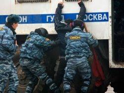 Митинг против НТВ возле телецентра закончился задержаниями