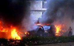 Шокирующие кадры теракта в Ливане  (фото)