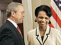 Троечник Буш взял верх над Райс