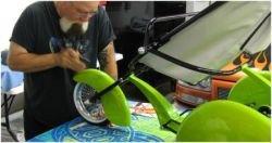 Тюнинг детской коляски (фото)