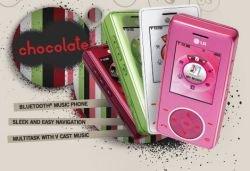 LG Chocolate лишь немного уступает по продажам iPhone