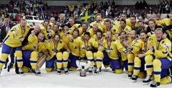 Шведы примут чемпионат мира по хоккею