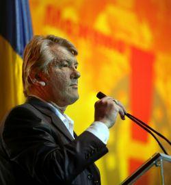 Ющенко запретили агитировать за собственный блок