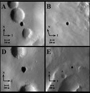 Ученые обнаружили входы в загадочные пещеры на Марсе