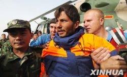 Второй спасенный российский спортсмен-рафтер доставлен в Хотан