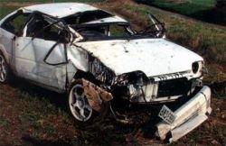 Под Омском в котловане найдена машина с пятью телами