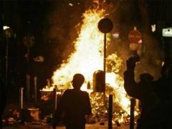 В Гамбурге прошли массовые беспорядки