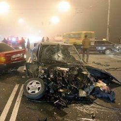 За выходные на дорогах пострадали сотни людей