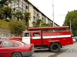 Пожар лишил Грузию Общественного телевидения