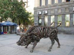 Оригинальные скульптуры на улицах Армении (фото)