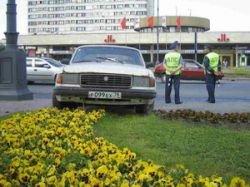 Парковка на газоне обойдется столичным водителям в 4-5 тысяч рублей