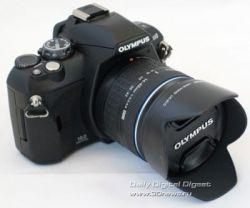 Olympus E-410: компактная и легкая цифровая зеркальная камера