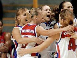 Российские баскетболистки обыграла француженок