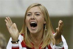 Дебют Шараповой за сборную России состоится в февраля 2008 года