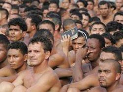 Заключенные бразильской тюрьмы прекратили бунтовать