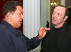 Кевин Спейси и Уго Чавес решили развивать киноиндустрию Венесуэлы