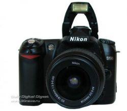 Зеркальная фотокамера Nikon D50 Kit