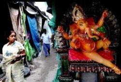 Фестиваль Ганеша Чатуртхи в Индии (фото)