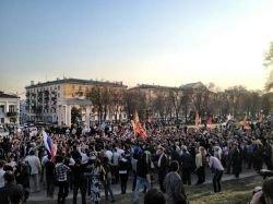 Астрахань: митинг за Шеина стал шествием