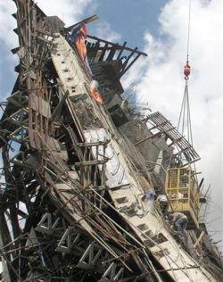 Обрушение моста во Вьетнаме (фото)