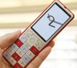 Новый дизайнерский телефон Infobar 2
