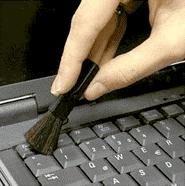 Как почистить ноутбук в полевых условиях