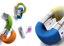 Любопытная концепция флеш-цепочки от дизайнера Вики Вей