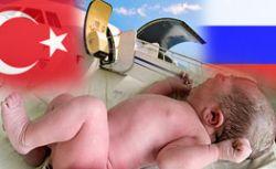 Российского малыша, рожденного в Турции, готовят к отправке в Россию