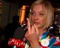 Скандальное видео телеведущей украинского канала - Василисой Фроловой (видео)