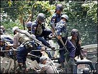 Протесты в Бирме: девять убитых