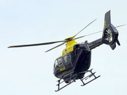 Уснувшего под кроватью мальчика искал полицейский вертолет