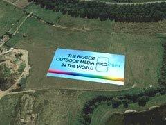 В Лондоне начат монтаж крупнейшего в мире рекламного щита