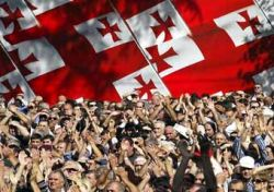 Антиправительственный митинг в Тбилиси завершился мирно