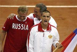 Россия начнёт Кубок Дэвиса-2008 матчем с сербами