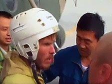 Спасенный в Китае турист вернулся в Казань
