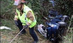Раненая женщина выжила 8 дней в разбитом автомобиле