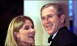Дочь Джорджа Буша написала книгу