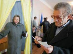 Выборы на Украине: первые инциденты