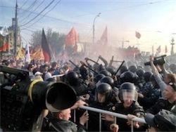 На митинге оппозиции в Москве произошли массовые беспорядки