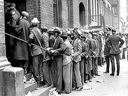Расстрел народа в Вашингтоне в 1932-м году