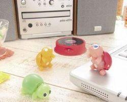 Rhythmbits - маленькие электронные зверьки, реагирующие на звук