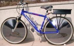 Велосипед E-V Sunny Bicycle работает на солнечной энергии!