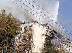 МЧС привело новые данные о пожаре в Москве