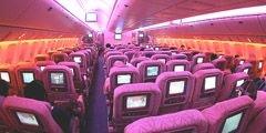 Определены лучшие авиакомпании по развлечениям в полете