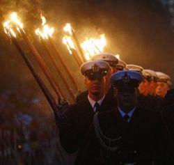 Парад факелов в Мюнхене