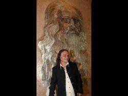 В Албании изваяли самую большую в мире мозаику с изображением Леонардо Да Винчи (фото)