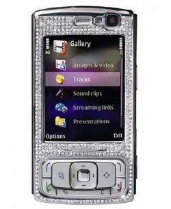 10 эксклюзивных Nokia N95 8GB будут сделаны из белого золота и бриллиантов