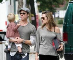 Анжелина Джоли и Брэд Питт больше не будут сниматься вместе (фото)