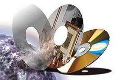 Компакт-диски повисли в воздухе